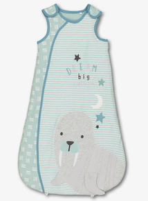 Green & White Walrus Sleep Bag (0-24 Months)