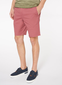 Berry Pink Chino Shorts