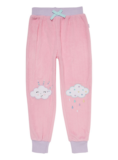Pink Mix and Match Dreamy Fleece Bottoms (3-13 years)