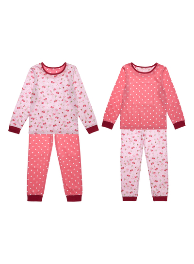 80057a5b9 Kids Girls Pink Pyjamas 2 Pack (9 months - 12 years)