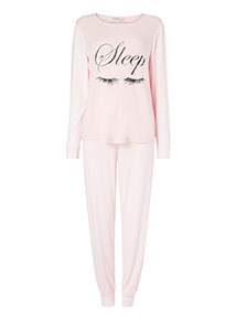 Sleep Eyelash Pyjamas