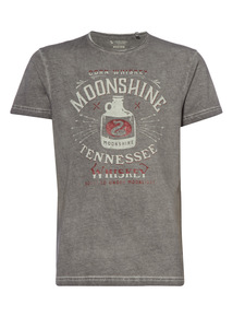 Grey Tennessee Graphic Tee