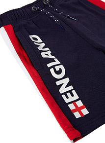 Navy England Shorts Navy England Short (3-14 years)