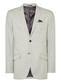 Cream Cotton Jacket