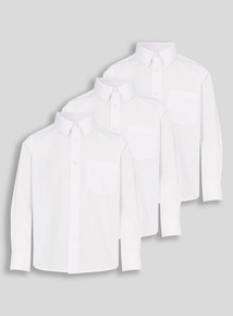Long Sleeve Shirt 3 Pack (17 - 18 years)