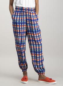 Multicoloured Spot Trousers