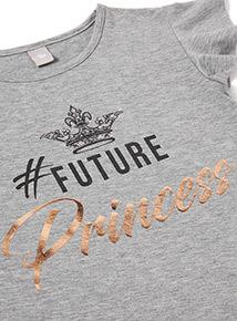 Multicoloured Royal Wedding Future Princess T-Shirt (3-14 years)