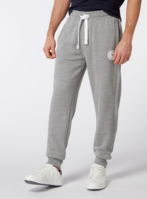 Online Exclusive Russell Athletic Grey Marl Ribbed Jogger