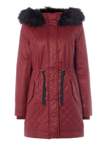 Red Hooded Parka