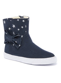 Star Bow Hightop Boots (4 Infant - 4)