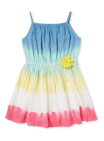 Multicoloured Woven Dress (9 months-6years)