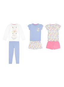 Bunny's Bedtime PJ Set 3 Pack (1 - 12 years)