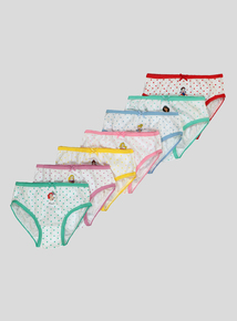 Disney Princess Multicoloured Briefs 7 Pack (18 months-8 years)
