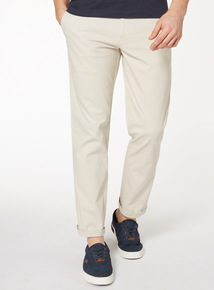 Online Exclusive Stone Straight Leg Chinos