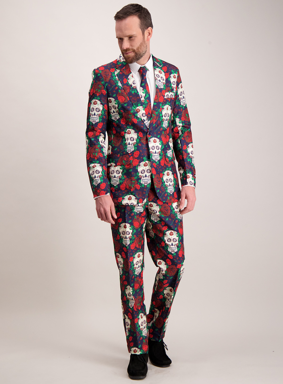 Halloween Costumes Halloween Multicoloured Day Of The Dead Suit