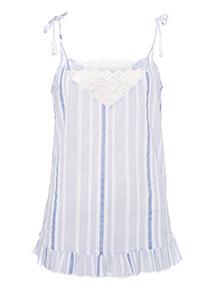 Stripe Camisole Pyjama Top