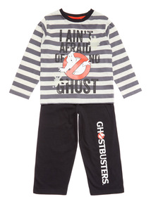 Black Halloween Ghostbusters Pyjama Set(18 months-12 years)