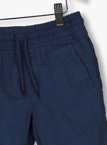 Blue Panel Combat Trousers (3-14 Years)