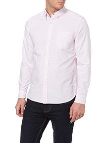 Pink Bengal Stripe Oxford Shirt