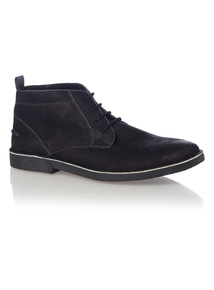 Black Borg Chukka Boot