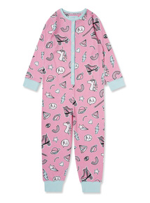 Pink Unicorn Sleep Goals All-In-One (2-12 years)