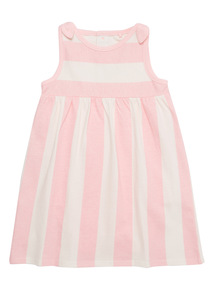 Multicoloured Stripe Dress (0 - 24 months)