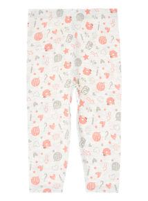 Grey Pattern Leggings (0-24 months)