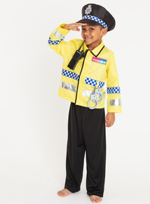Multicoloured Metropolitan Police Costume (2-10 years)