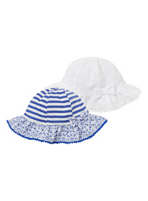 Sun Hats 2 Pack (0 - 2 years)