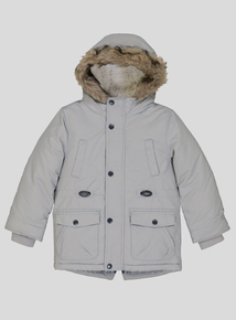 Light Grey Parka Coat (9 Months - 6 Years)
