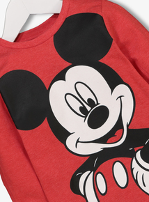 Disney Mickey Mouse Red T-shirt (9 months -6 years)