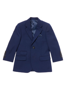 Navy Smart Occasion Jacket (3-14 years)