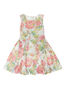 Multicoloured Metallic Occasion Dress (3 - 12 years)