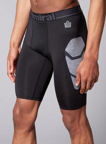 Admiral Performance Black Base Layer Shorts