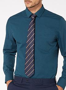 Navy Stripe Tie