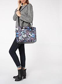 Butterfly Shopper Bag