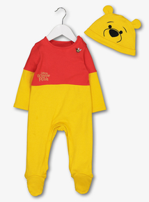 9902fc89af9d Disney Winnie The Pooh Multicoloured All In One   Hat (Newborn -24 Months)