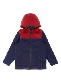 Boys Multicoloured Colour Block Jacket (3-12 years)