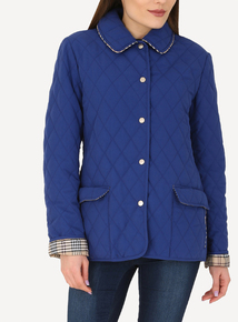 DAVID BARRY Cobalt Lightweight Microfiber Jacket