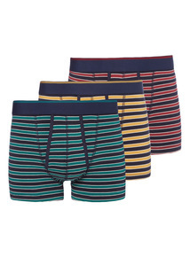 Striped Trunks 3 Pack