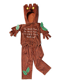 Brown Stick Man Costume (1-8 years)
