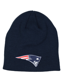 NFL Navy New England Patriots Beanie Hat