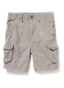 Grey Cargo Shorts (9 months-6 years)
