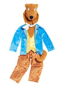 Multicoloured Fantastic Mr Fox Costume (3-10 years)