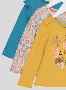Multicoloured Deer Valley Long Sleeve Knitted Top (9 months - 6 years)