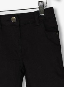 Black Stretch Jeans (3-14 years)