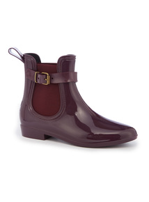 Red Chelsea Welly