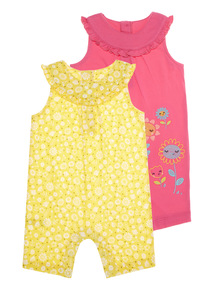 Jersey Rompers 2 Pack (0 - 24 months)