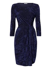 Velvet Knot Dress