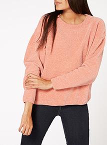 Pink Chenille Jumper